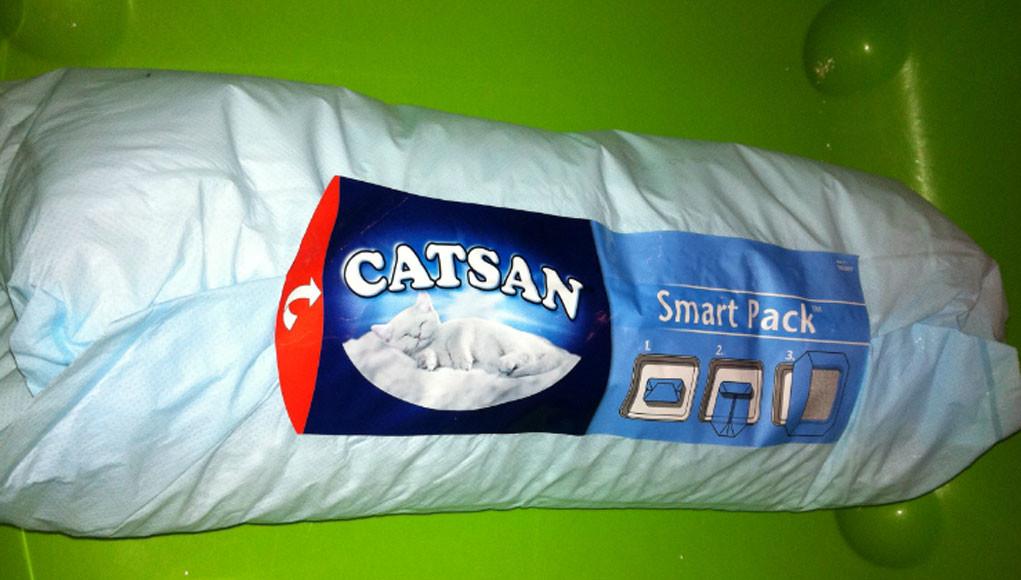 produkttest catsan smart pack. Black Bedroom Furniture Sets. Home Design Ideas