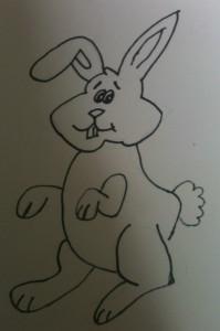 kaninchen zeichnen