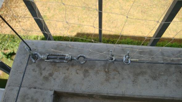 Lebensretter Katzennetz Balkon Sichern
