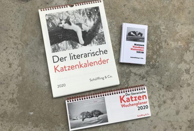 der literarische katzenkalender